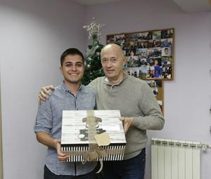 10.12.2018 - Miodrag Kostic posetio sticenike SOS Decijeg sela