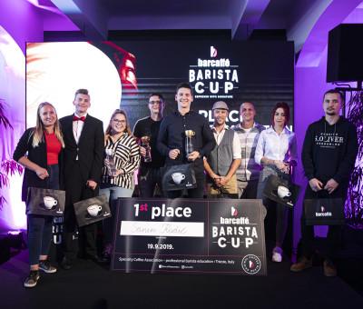 Učesnici finalnog takmičenja Barcaffé Barista Cup