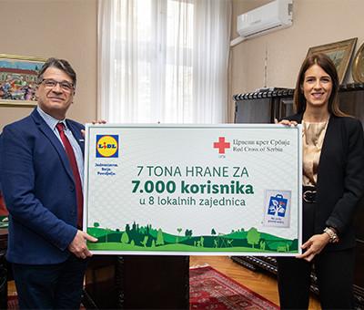 04.10.2019 - Lidl donirao sedam tona hrane Crvenom Krstu copy