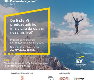 EY Preduzetnik godine 2020